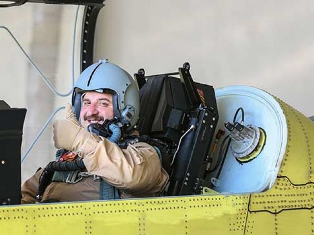 Bakan Varank Hürkuşun deneme uçuşuna katıldı