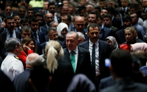 Cumhurbaşkanı Erdoğan, Gaziler Günü Töreninde konuştu
