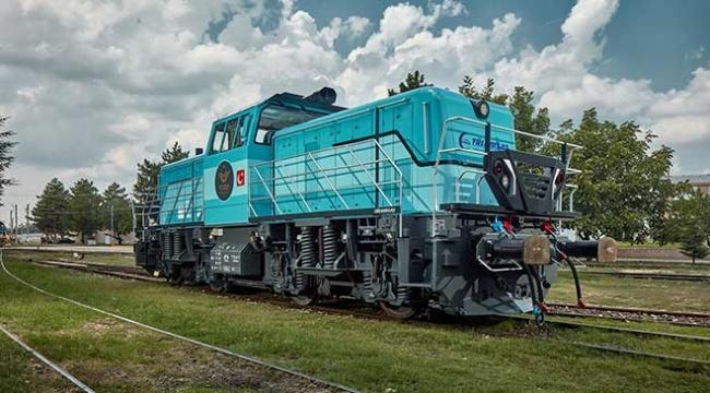 Milli hibrit lokomotif Almanyada tanıtıldı