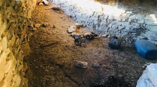 Siirtte PKKya ait malzemeler imha edildi