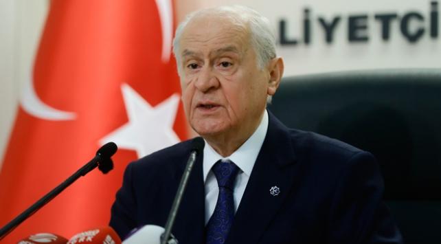 MHP Genel Başkanı Bahçeli: MHP yerel seçimlerde İstanbulda aday göstermeyecek