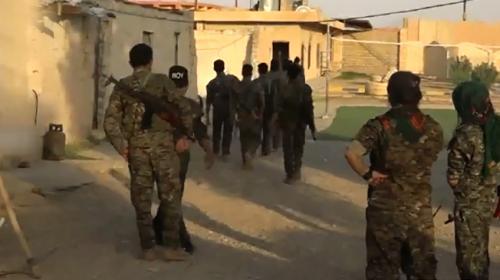 Bölücü terör örgütü PKKnın Sincardaki yapılanması görüntülendi