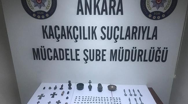5 milyon liralık tarihi eser pazarlığına polis baskını