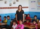 Urfa dağlarının Ceylan öğretmeni öğrencilerini geleceğe hazırlıyor