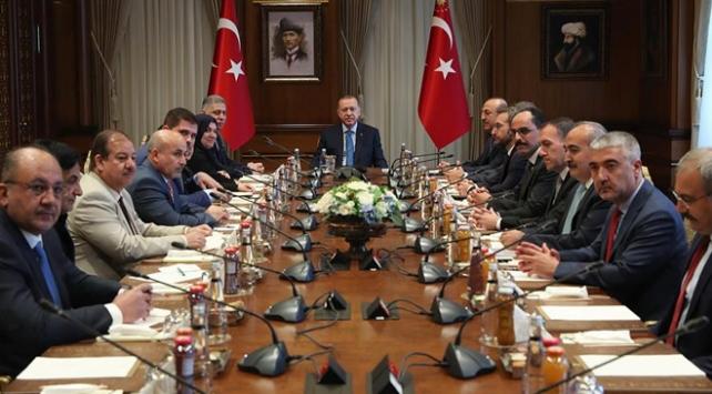 Cumhurbaşkanı Erdoğan Türkmen milletvekillerini kabul etti