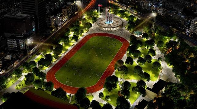 """Bursanın """"Millet Bahçesi"""" için yeni proje"""