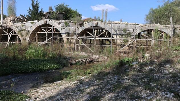 Aizanoi Antik Kentinde kayıklar yüzdürülecek