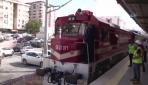 İstanbul Banliyösü Pendik-Maltepe hattında test sürüşü başladı