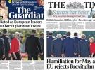 İngiltere basını: Theresa May AB liderleri tarafından rezil edildi