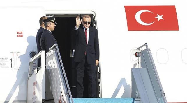 Cumhurbaşkanı Erdoğan BM Genel Kuruluna katılmak üzere ABDye gidecek