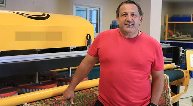 Türk girişimci tasarladığı halı yıkama makinesini 56 ülkeye ihraç ediyor
