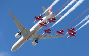 TEKNOFEST İstanbulda gösteri uçuşu