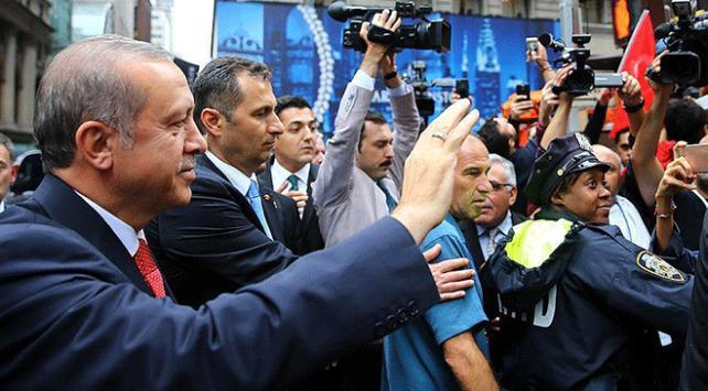 ABDdeki Türk ve Müslüman toplumu Cumhurbaşkanı Erdoğanı bekliyor
