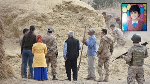 Karsta kaybolan küçük Sedanurun cansız bedeni bulundu