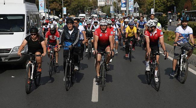 500 bisikletli TEKNOFESTe pedal çevirdi