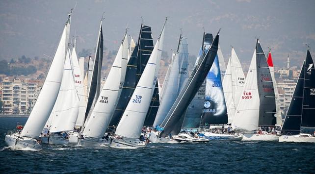 İzmir Körfez Festivalinde yarış heyecanı