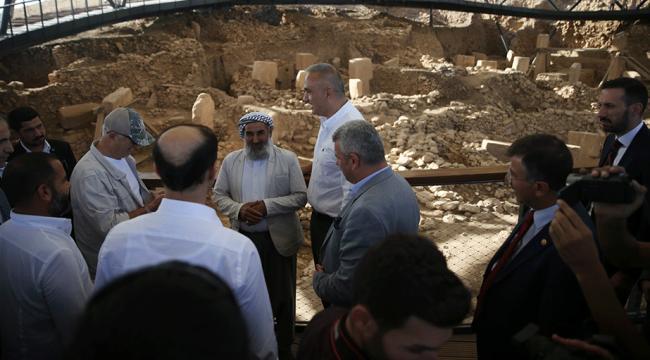 Kültür ve Turizm Bakanı Ersoy: Göbeklitepe çok ciddi turist çeken bir nokta olacak