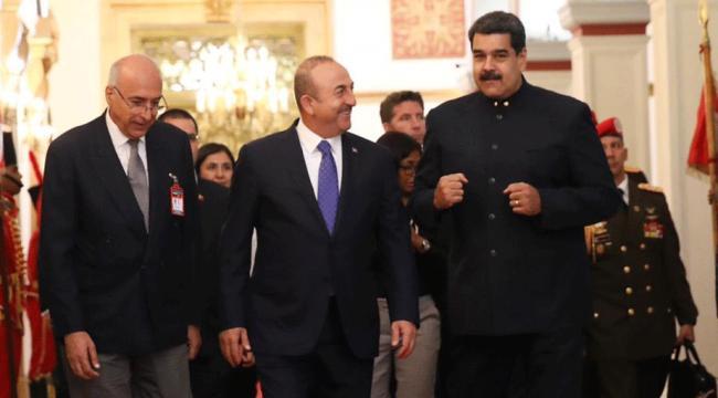 Çavuşoğlu-Maduro görüşmesinde Diriliş Ertuğrul damgası