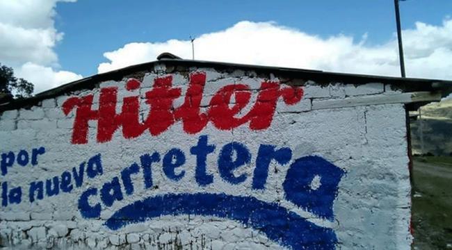 Hitler ve Lenin, Perudaki yerel seçimlerde yarışıyor