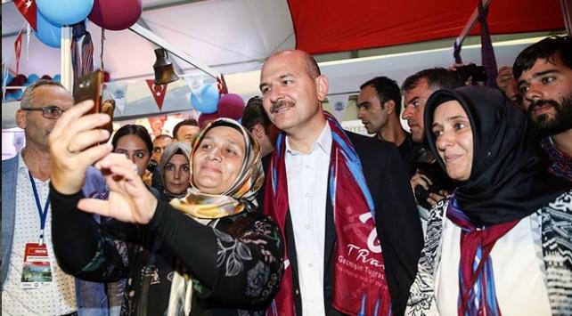 İçişleri Bakanı Soylu hemşehrileriyle buluştu