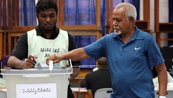 Maldivlerde halk sandık başında