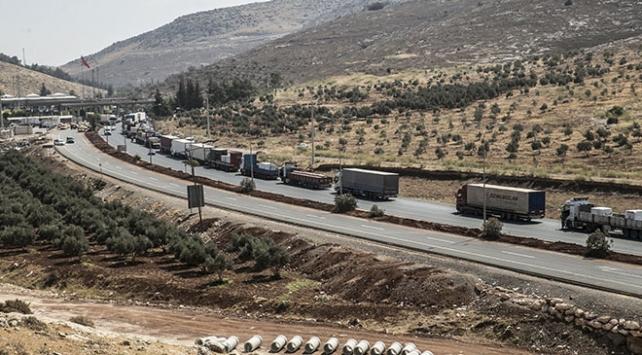 Cilvegözü Sınır Kapısından 8 ayda 70 bin tır geçti