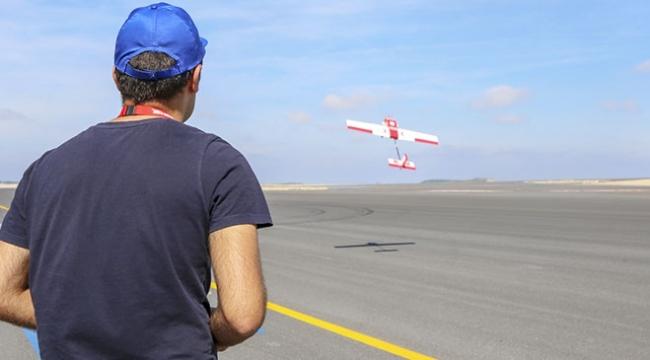 Gençlerin hayalleri İstanbul Yeni Havalimanında göklere yükseldi
