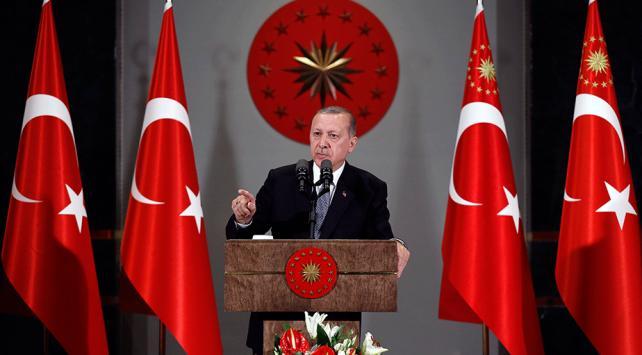 Cumhurbaşkanı Erdoğan: ABDnin terör örgütü PYD/YPGye desteği devam ediyor