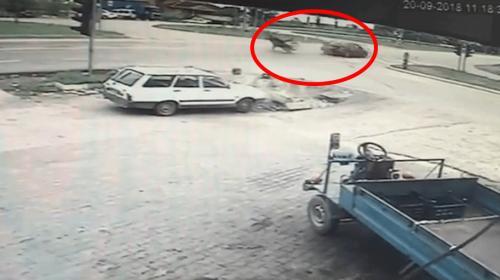 Çanakkalede büyük kaza ucuz atlatıldı