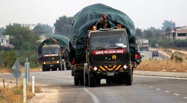 Suriye sınırına zırhlı araç sevkiyat sürüyor