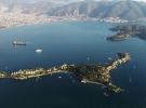 Tarihi kalıntıları ve sessizliğiyle turistlerin ilgi odağı: Şövalye Adası