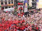 İspanya'da sıra dışı festival: İnsan kulesi