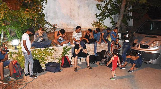 Edirnede 559 göçmen yakalandı