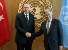 Cumhurbaşkanı Erdoğan-Guterres ile görüştü