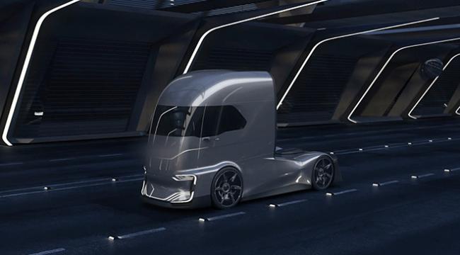 Türk mühendislerin tasarladığı kamyon Almanyada yoğun ilgi gördü