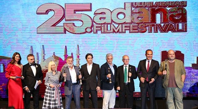 25. Uluslararası Adana Film Festivali Onur Ödülleri sahiplerini buldu