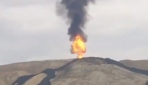 Azerbaycanda çamur volkanı patladı