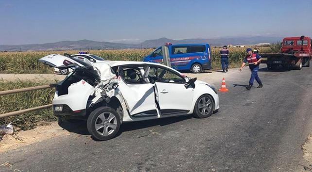 Bakan Pakdemirlinin annesi ve dayısı trafik kazası geçirdi