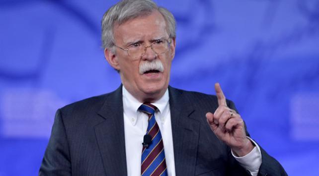 ABD Ulusal Güvenlik Danışmanı Boltondan Suriye açıklaması