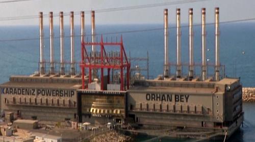 Lübnanı Türk gemileri aydınlatıyor