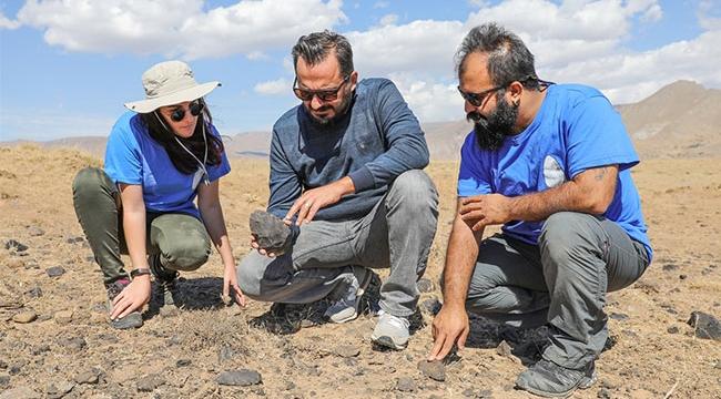 Vanda 350-400 bin yıl öncesine ait alan tespit edildi
