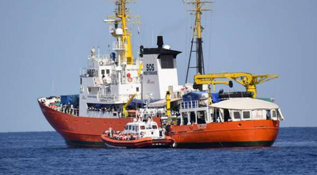 Fransa Aquarius mülteci gemisini kabul etmedi
