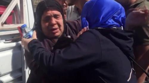 Suriyeli kadın 4 yıl önce Türkiyeye göç eden ailesine kavuştu
