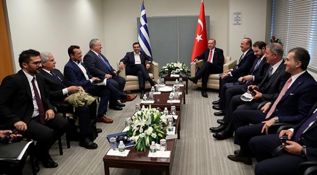 Cumhurbaşkanı Erdoğandan ABDde diplomasi trafiği