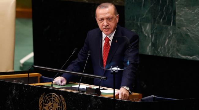 Cumhurbaşkanı Erdoğan BMye hitap etti
