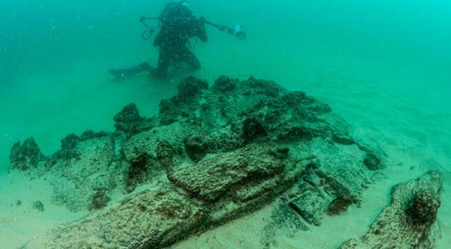 Portekizde 400 yıllık gemi enkazı bulundu