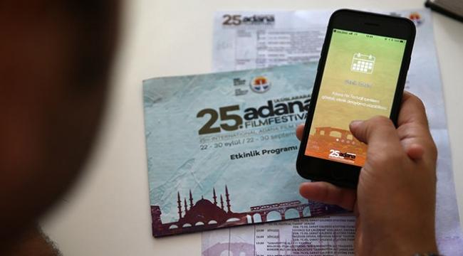 Uluslararası Adana Film Festivali için özel mobil uygulama