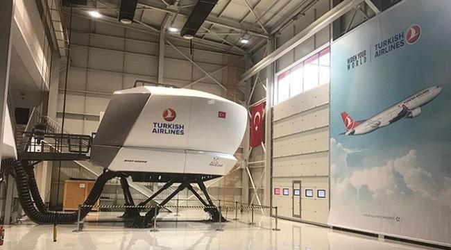 Türk Hava Yollarının yerli uçuş simülatörü hizmete alındı