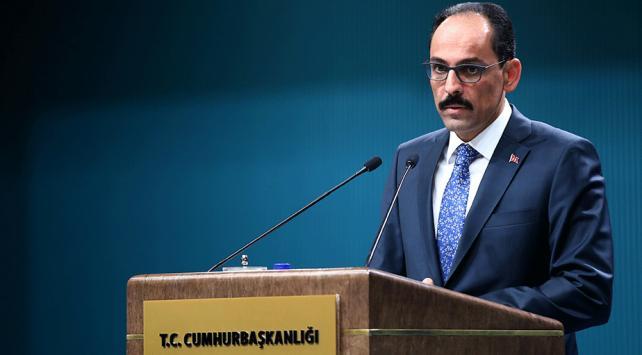 Cumhurbaşkanlığı Sözcüsü Kalından Türk Dil Bayramı mesajı