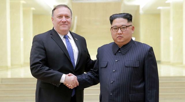 Pompeo, Kuzey Kore lideri Kim Jong-un ile görüşecek